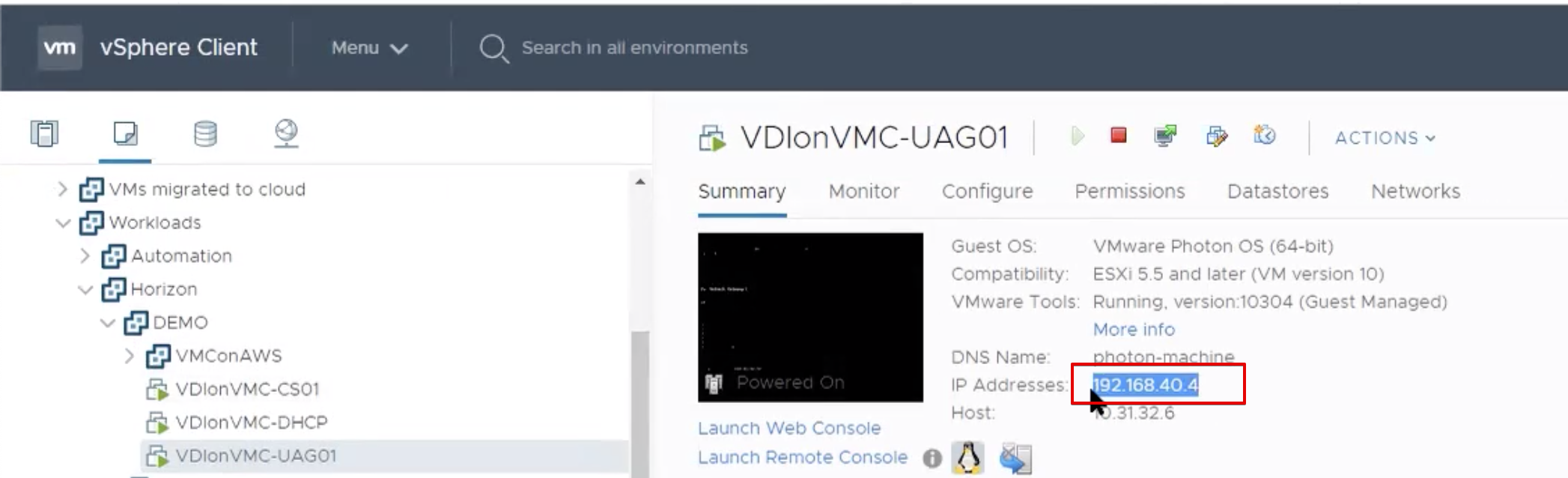 Route 53 for VMware Horizon – EUC on VMC